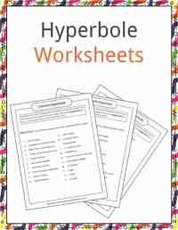 Hyperbole Examples, Definition & Worksheets | KidsKonnect