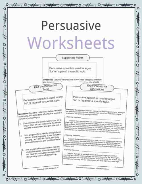 small resolution of Persuasive Speech Topic Examples