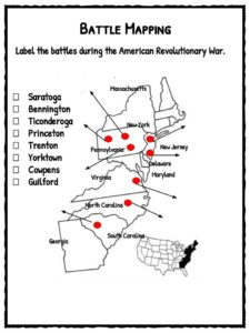 Valley Forge Facts And Worksheets For Primary Kids