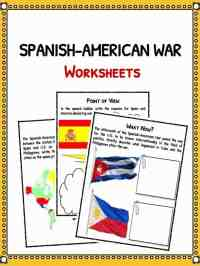 Spanish American War Worksheet. Worksheets. Tutsstar ...