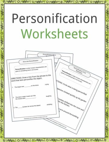Literary Devices Worksheets Lesson Plans & Resources