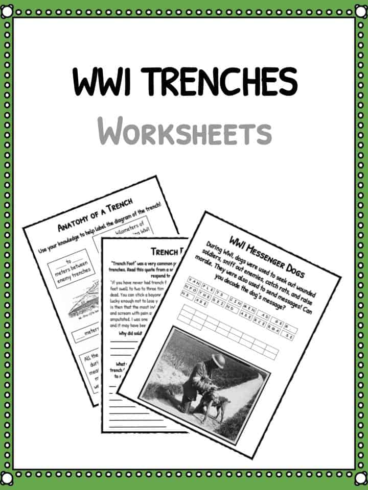 Ww1 Trenches Facts About World War I Trench Warfare