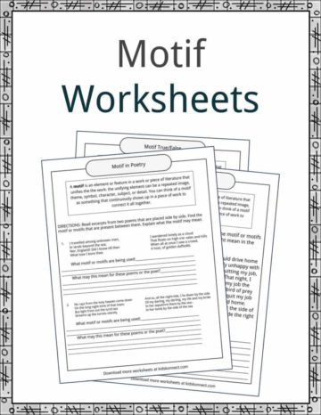 Literary Devices Worksheets, Lesson Plans & Resources