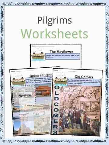Pilgrim Worksheets