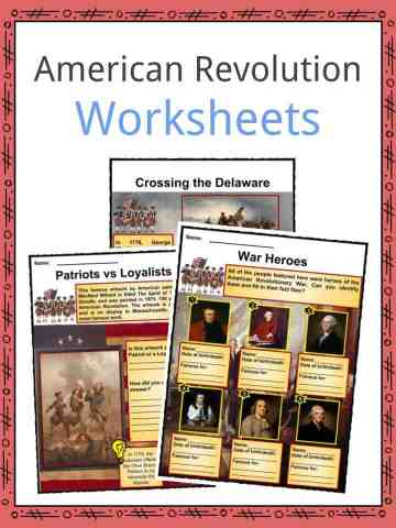 American Revolution Worksheets