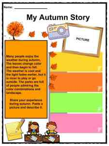 Autumn Facts, Worksheets, Information & Key Characteristics