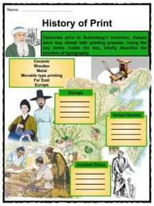 Johannes Gutenberg Facts, Worksheets, Biography ...