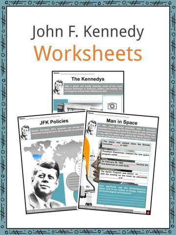 John F. Kennedy Worksheets