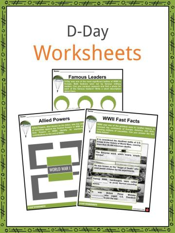 D-Day Worksheets
