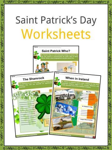 Saint Patrick's Day Worksheets