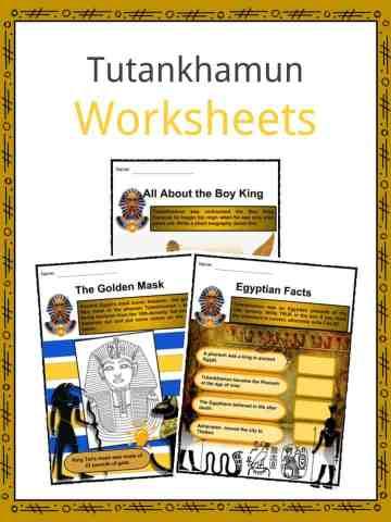 Tutankhamun Worksheets