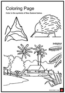 New Zealand Facts, Worksheets, History, Geography