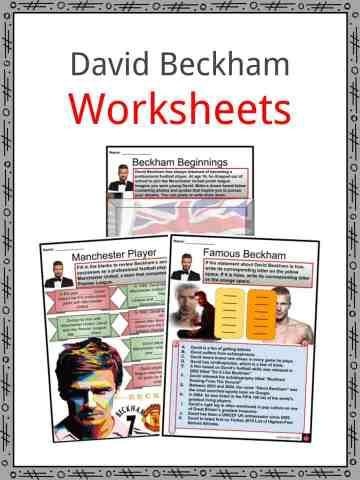 David Beckham Worksheets
