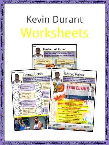 Kevin Durant Worksheets