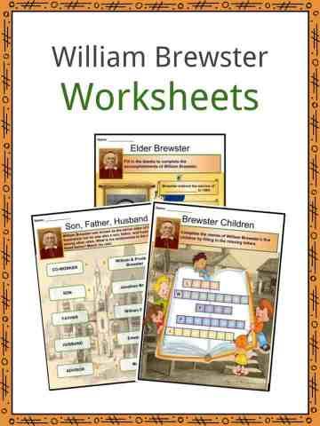 William Brewster Worksheets