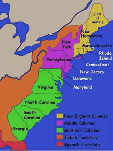 13-colonies-facts