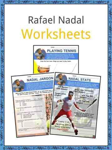 Rafael Nadal Worksheets