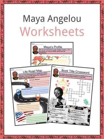Maya Angelou Worksheets