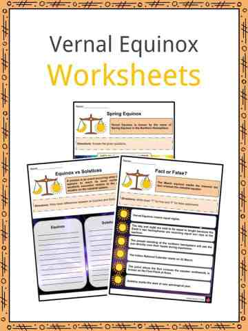 Vernal Equinox Worksheets
