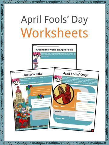 April Fools' Day Worksheets