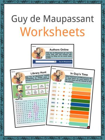 Guy de Maupassant Worksheets