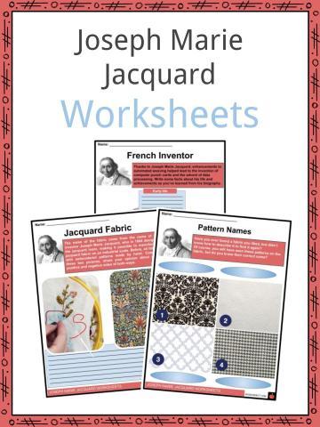 Joseph Marie Jacquard Worksheets