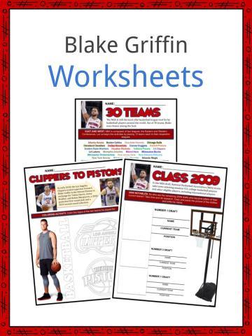 Blake Griffin Worksheets