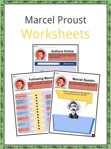 Marcel Proust Worksheets
