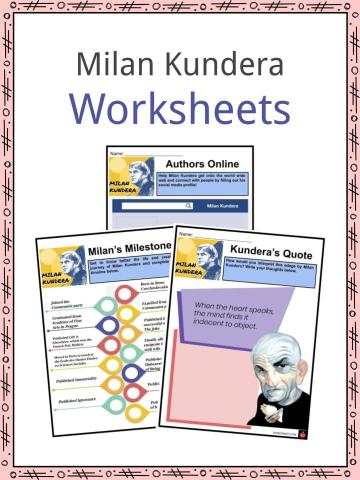 Milan Kundera Worksheets