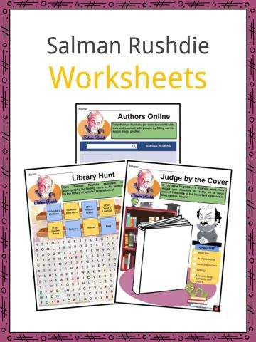Salman Rushdie Worksheets