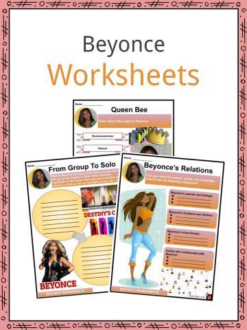Beyonce Worksheets