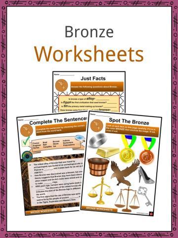 Bronze Worksheets
