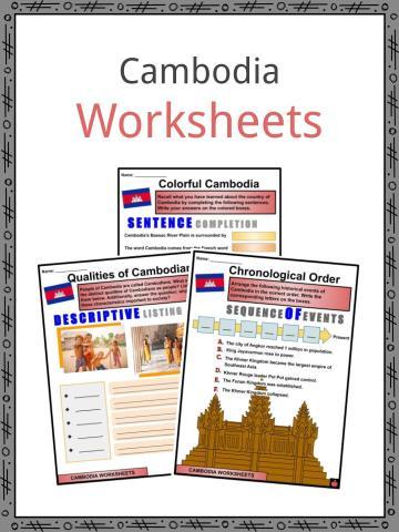 Cambodia Worksheets