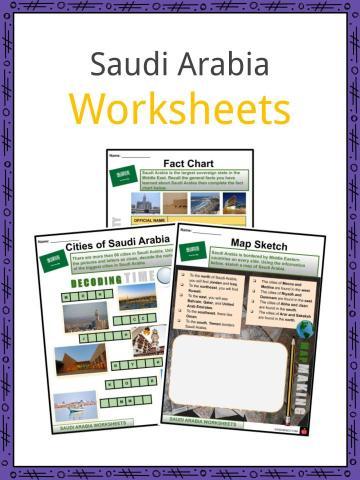 Saudi Arabia Worksheets