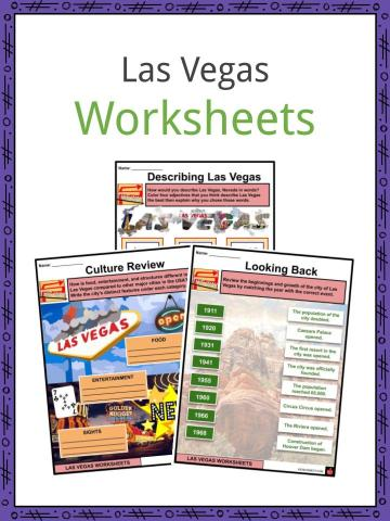 Las Vegas Worksheets
