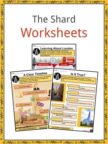 The Shard Worksheets