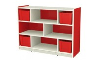 Buy Rouge Kids Storage Cabinet for Books and Toys  KidsKouch