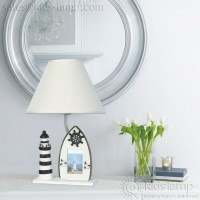 Beach style nautical kids table lamps  Ornate Kids Lamps