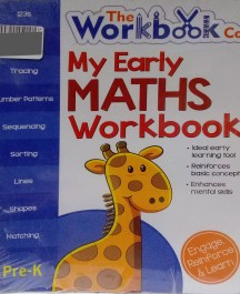 My Early Maths Workbook