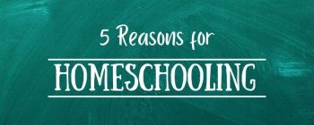 5 reasons for homeschooling