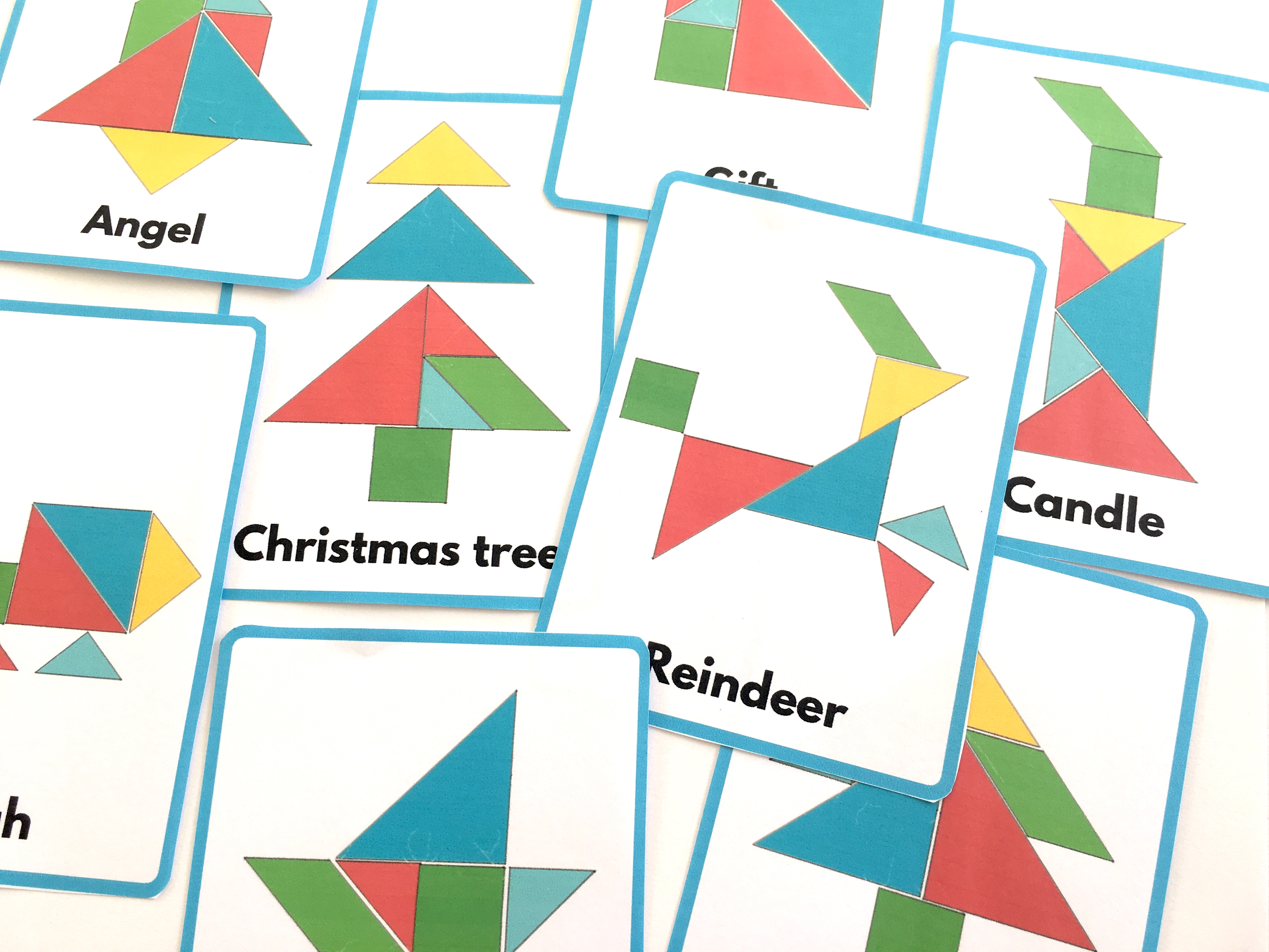 Tangram Shapes Printable That Are Influential