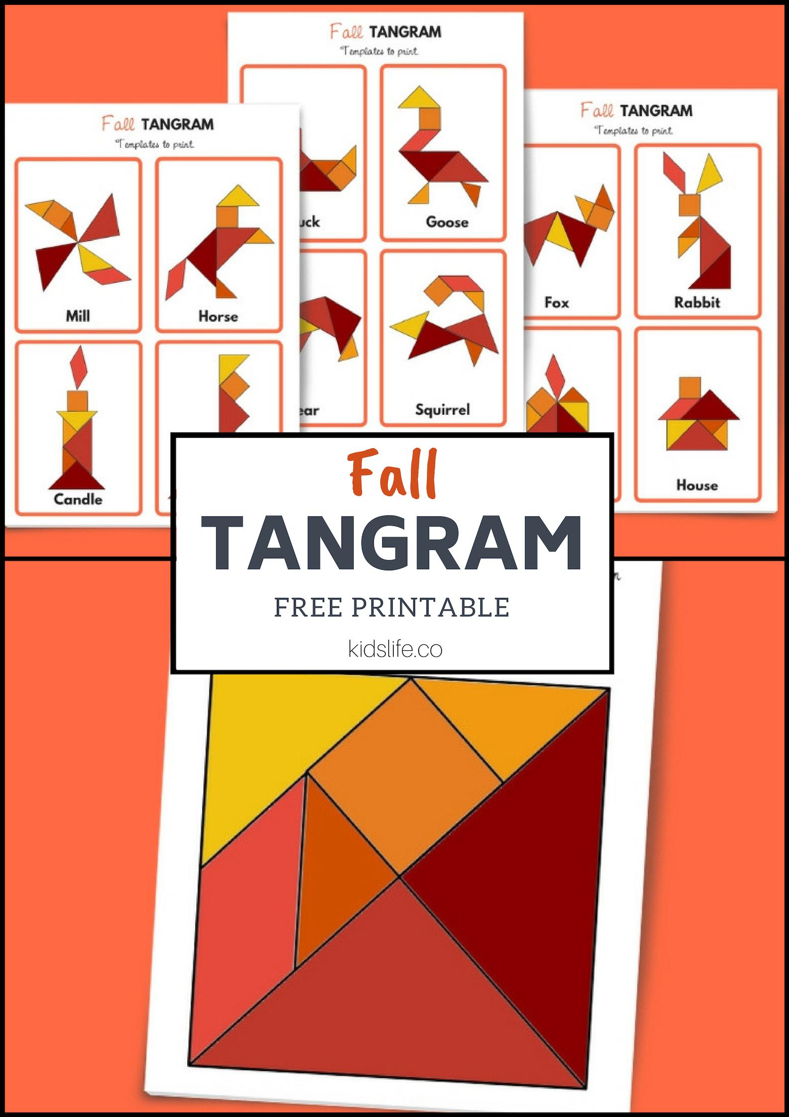 Fall Tangram