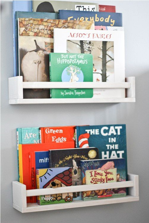 Especiero Bekvm de Ikea para guardar libros  Kidsmopolitan