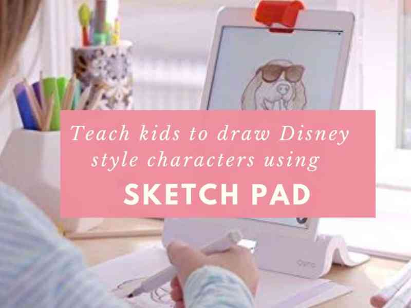 Draw disney style characters