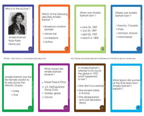 small resolution of Abraham Lincoln Flash Cards PDF