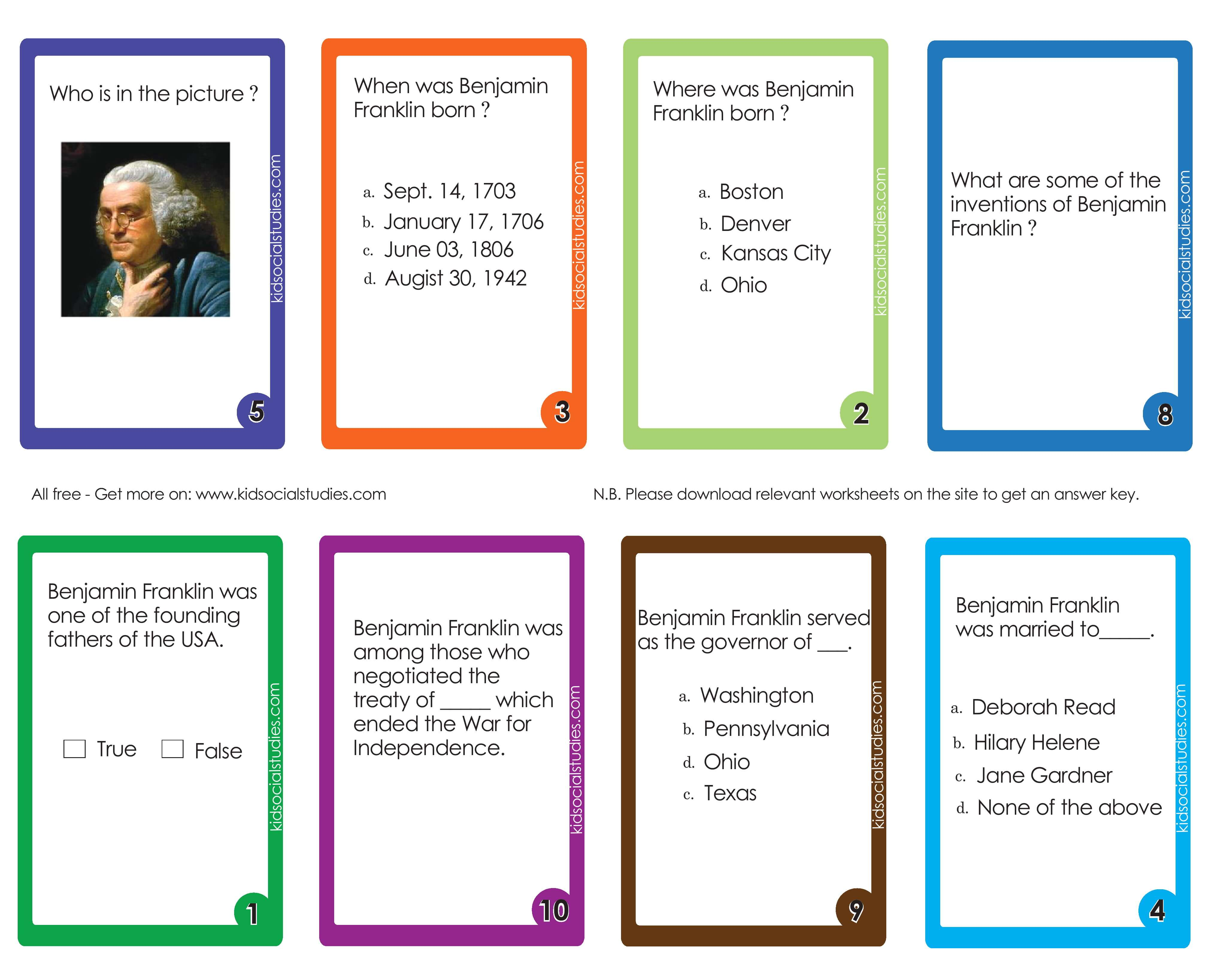 Abraham Lincoln Flash Cards
