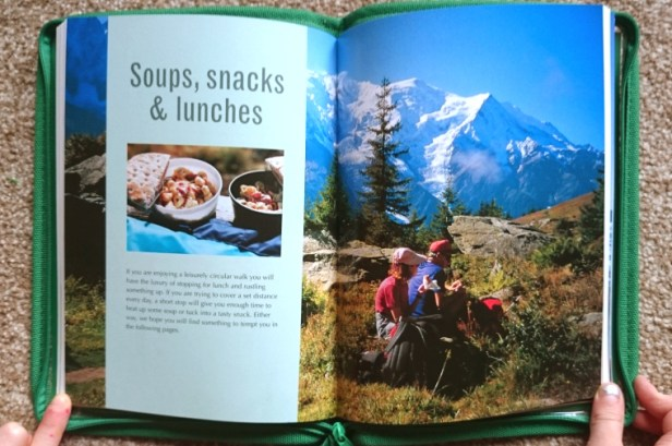 campfire-cookbook-inner-spread-with-photo-of-mountains