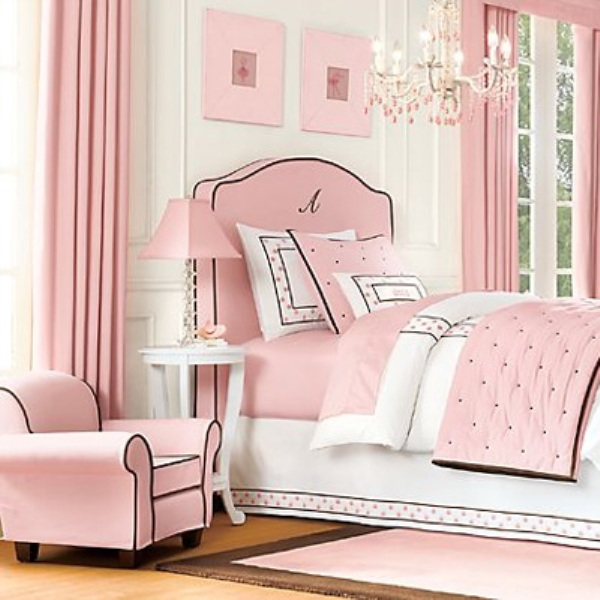 12 Cool Ideas For Black And Pink Teen Girl's Bedroom