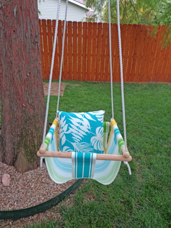 How To Hang A Baby Swing From A Tree : swing, Swing, Kidsomania