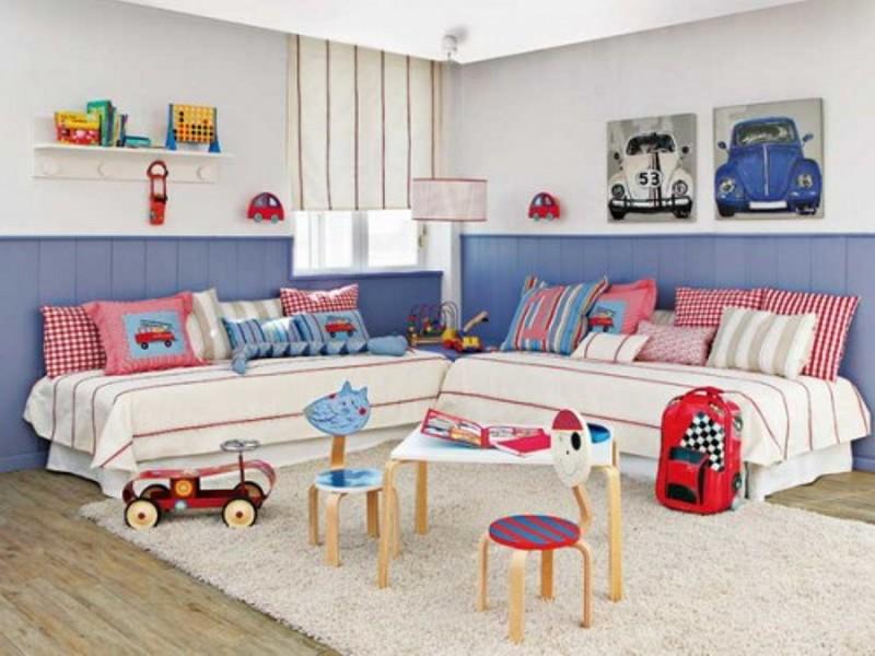 15 Headboard Design Ideas For A Shared Kids Bedroom